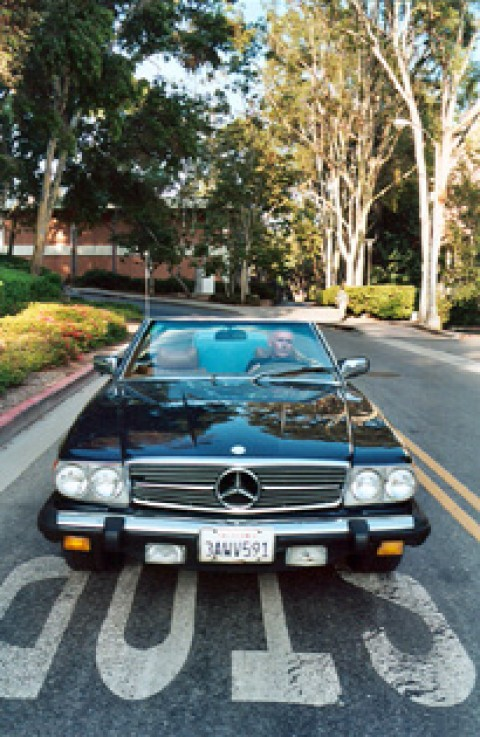 Mercedes 450 SL 2