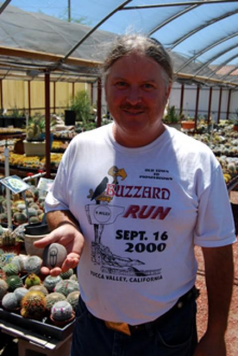 morongo valley cactus man